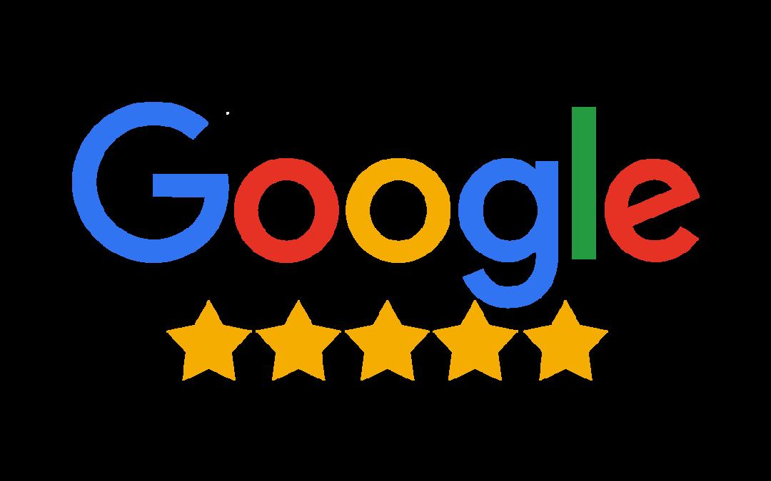 logo de google avec des étoiles