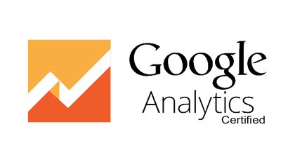 graphique de google analytics certified