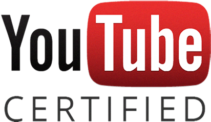 icone de youtube certified